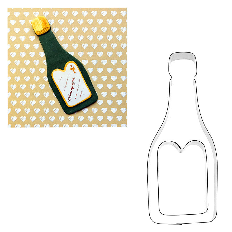 CHAMPAGNE BOTTLE & LABEL SET FOR WEDDING/CLEBRATIONS