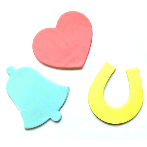 CONFETTI CUTTERS LARGE 3 SET