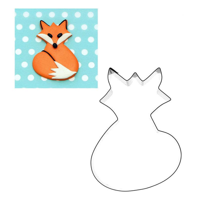 FOX CUTTER FOR CUPCAKES