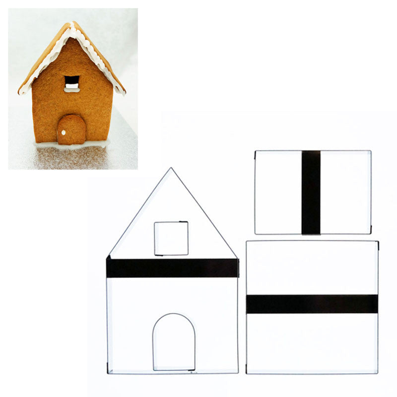 GINGERBREAD HOUSE SMALL INC INSTRUCTIONS AND RECIPE