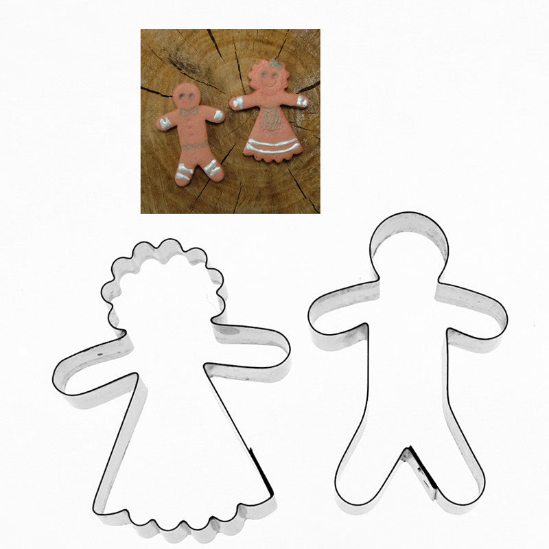 GINGERBREAD MAN AND LADY MINI