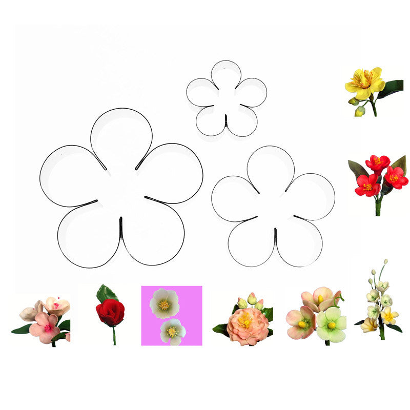 MULTI FLOWER SET OF 3