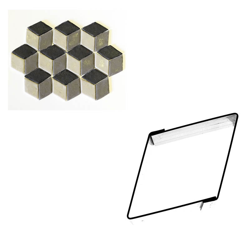 PATTERN GEOMETRIC DIAMOND SHAPE 14