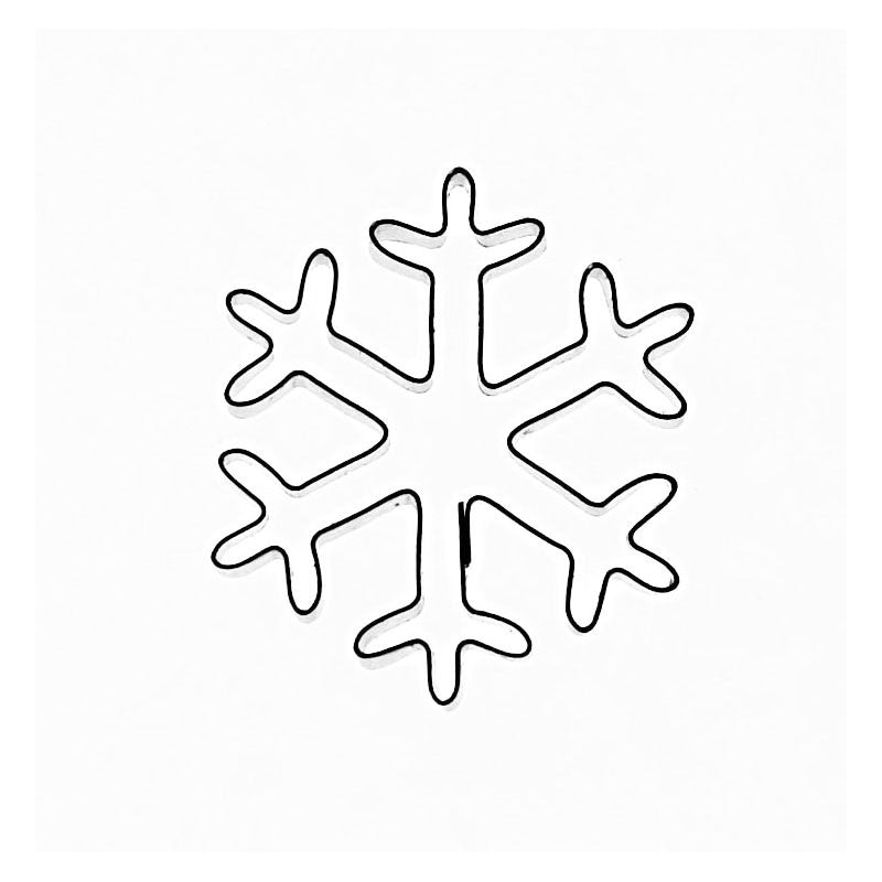 SNOWFLAKE TYPE 2  (WITH PASTE RELEASE TOOL)
