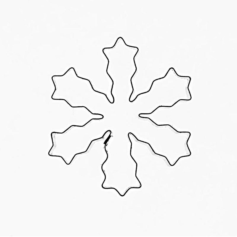 SNOWFLAKE TYPE 6  (WITH PASTE RELEASE TOOL)