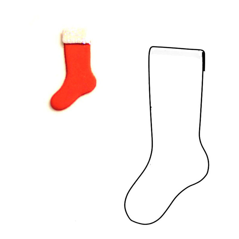 FOOTBALL/CHRISTMAS SOCK