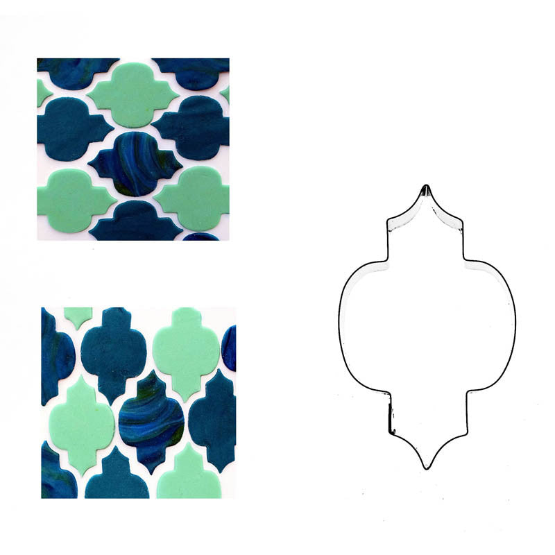 PATTERN RETRO MOSIAC TILE SHAPE 12