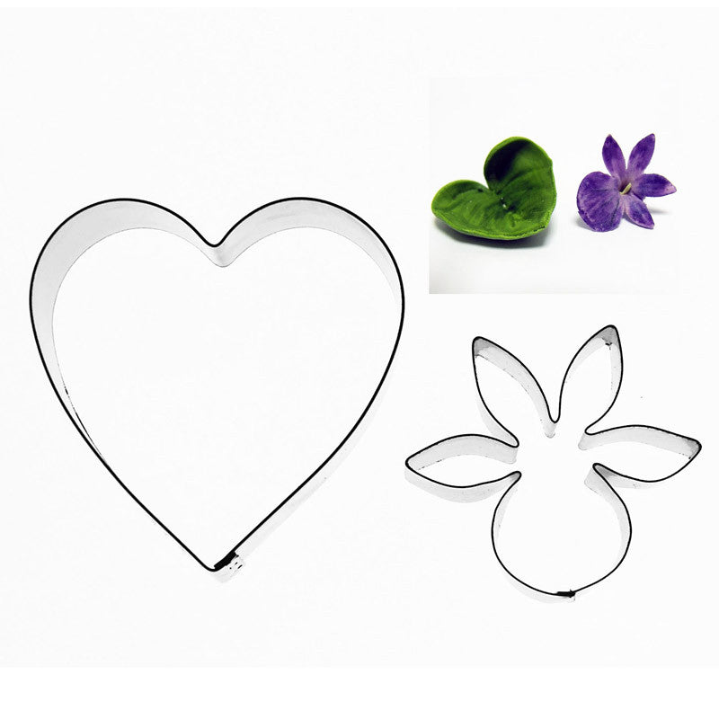 VIOLET AND LEAF – 2 SET