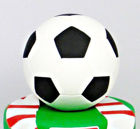 "FOOTBALL CUTTERS for 6"" AND 8"" BALL CAKE (Hexagon and Pentagon)"