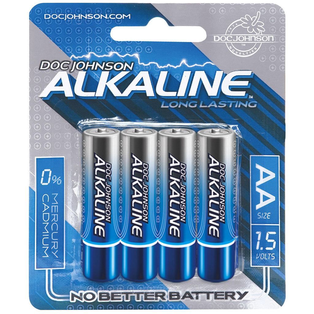 Doc Johnson Alkaline Batteries AA 4-Pack freeshipping - JOY TOYS