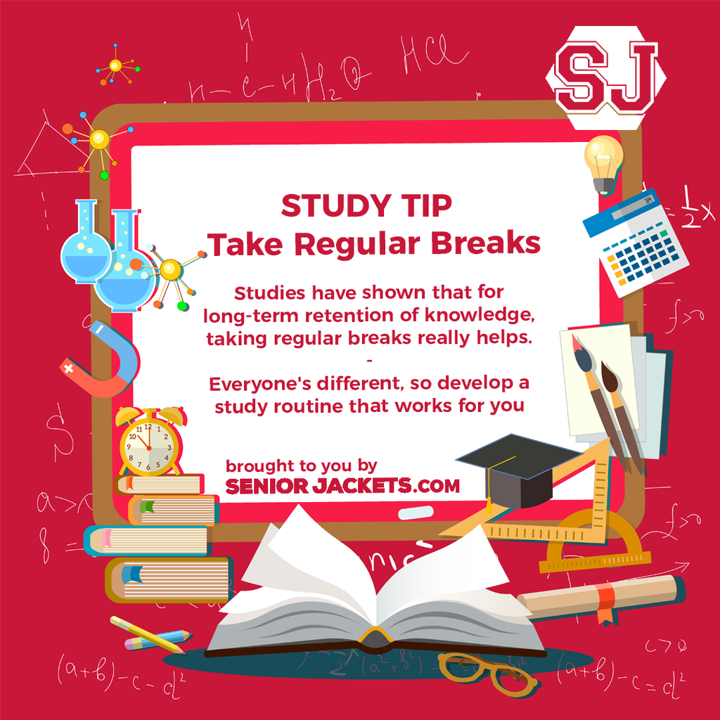 Senior Jackets Study Tips: Take Breaks