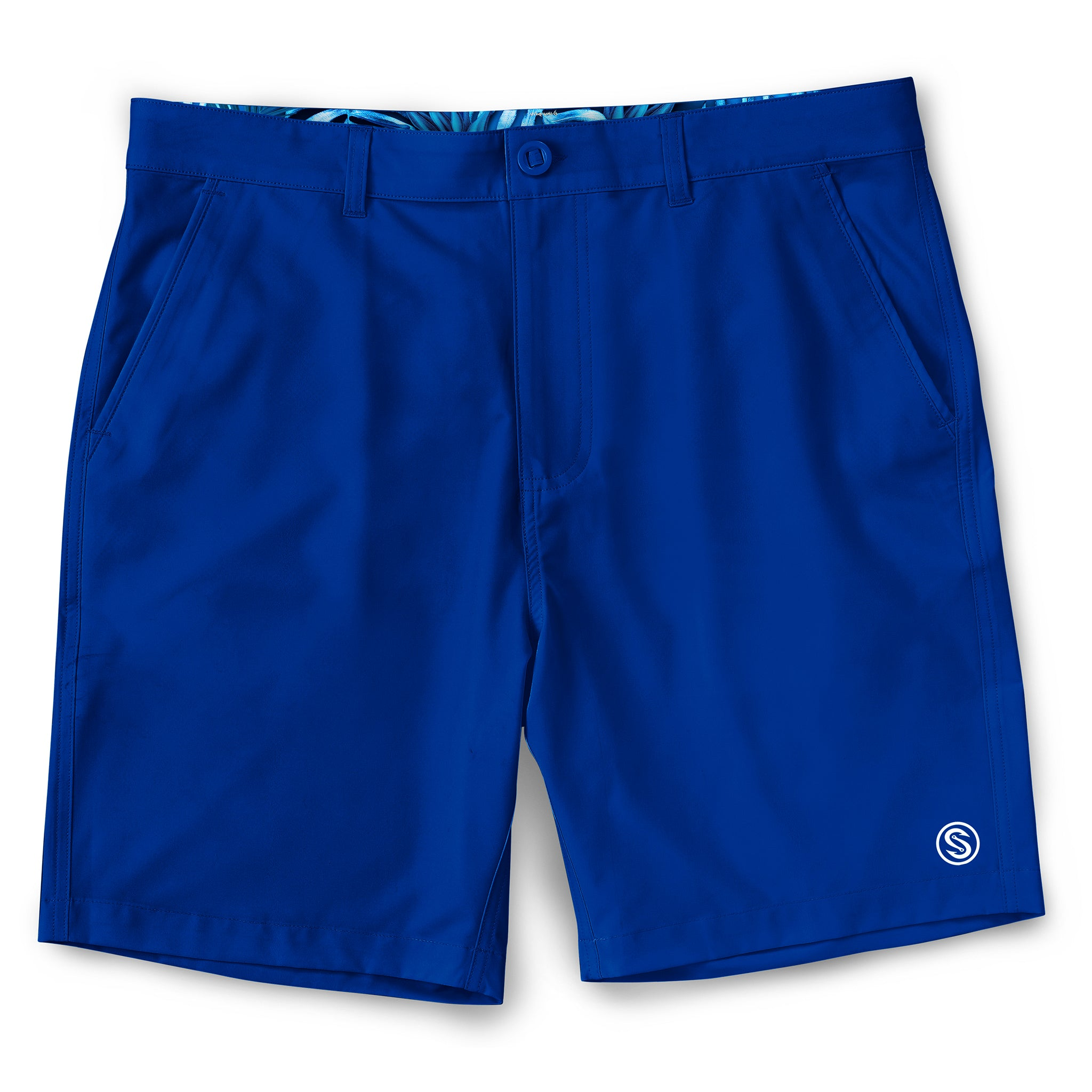 All Tides Walkshorts Royal Front