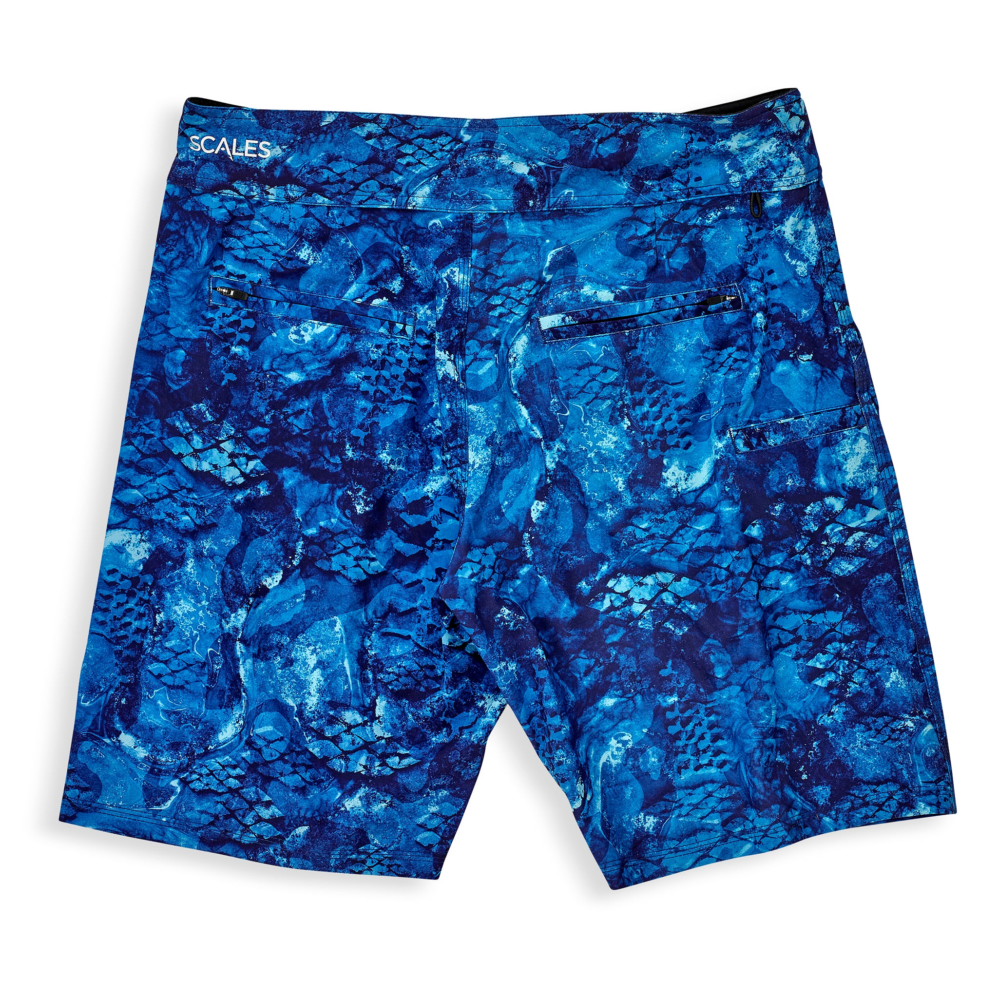 First Mates Board Shorts Blue Back