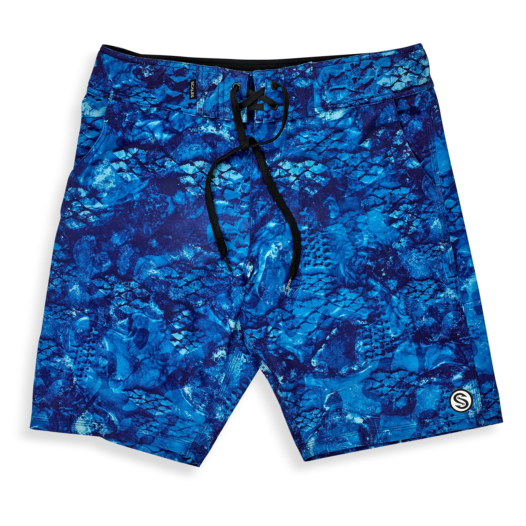 First Mates Board Shorts Blue Front
