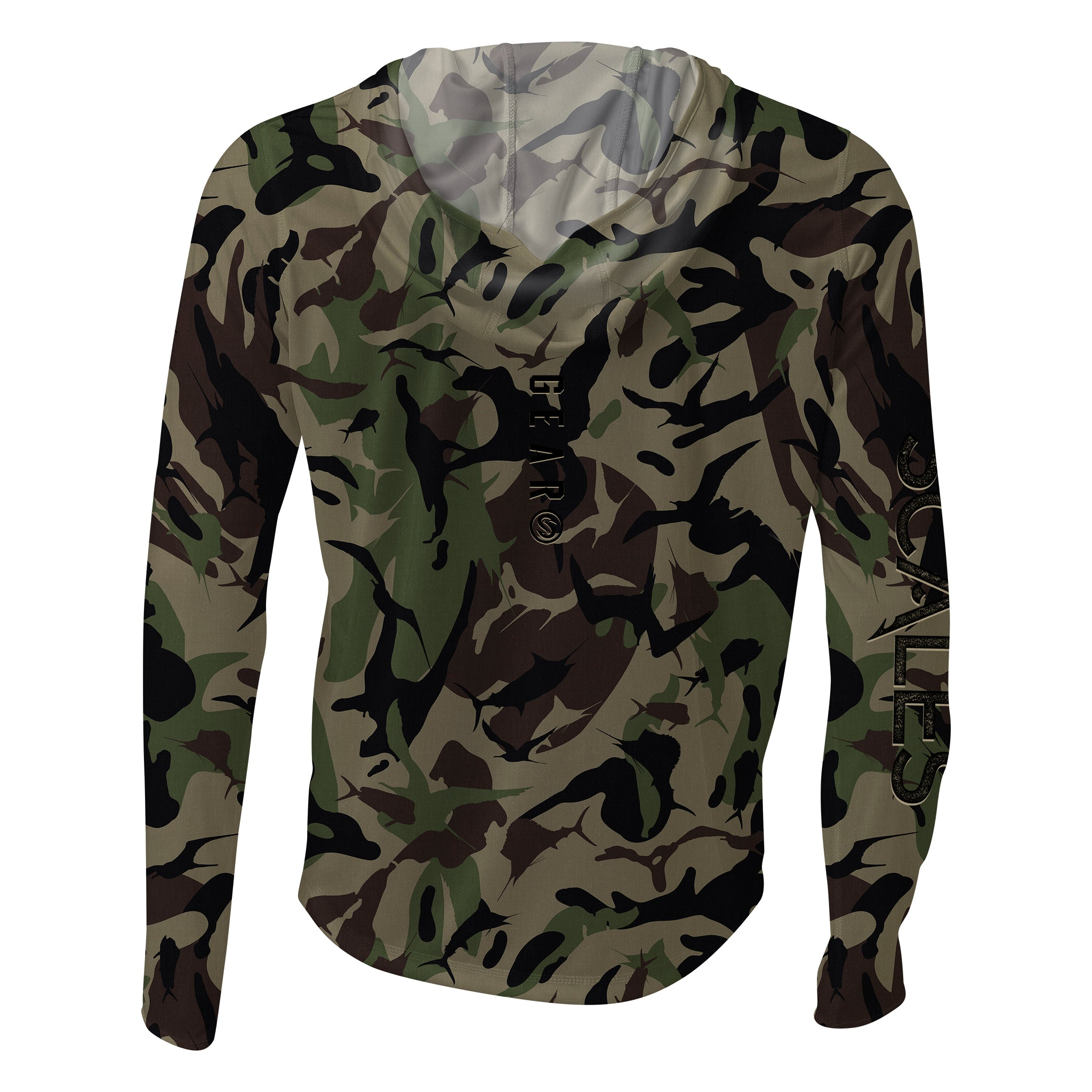 Frigate Camo Hooded SCALES PRO Performance