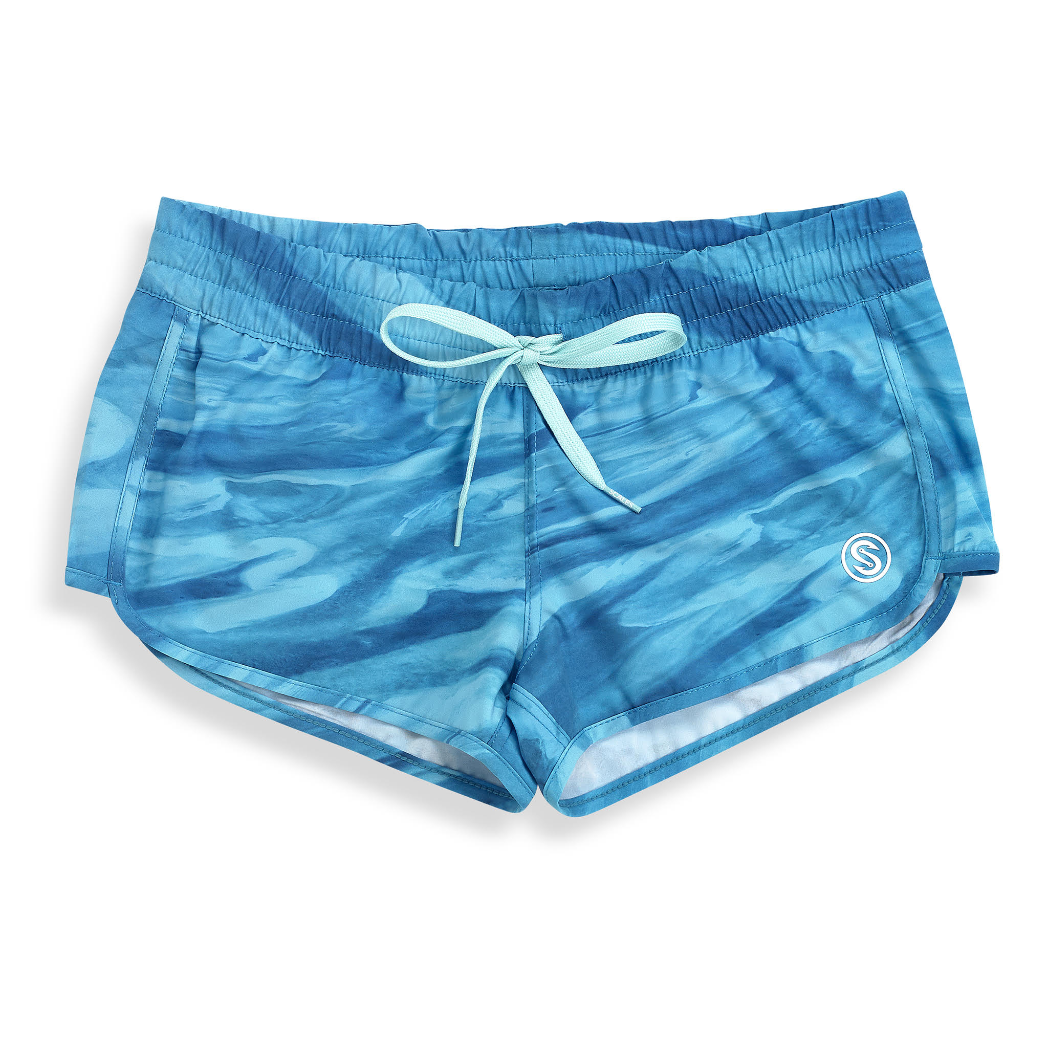 Bahamas Current Womens Boardshorts Front