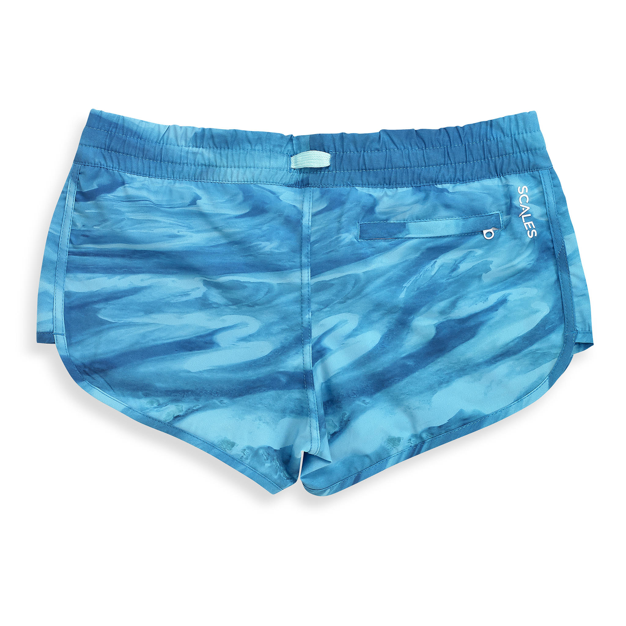 Bahamas Current Womens Boardshorts Back