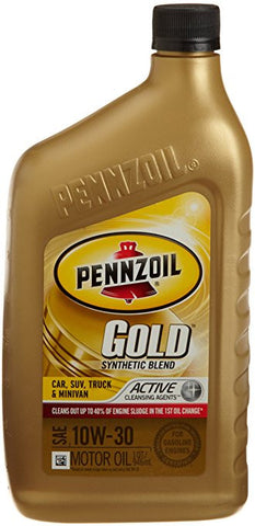 10W-30 ACEITE PENNZOIL GOLD (Litro)