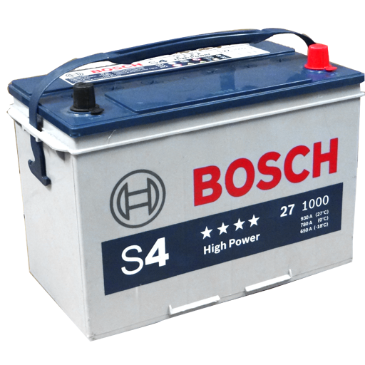27 HP I BATERIA BOSCH LIBRE MANTENIMIENTO HIGH POWER S4