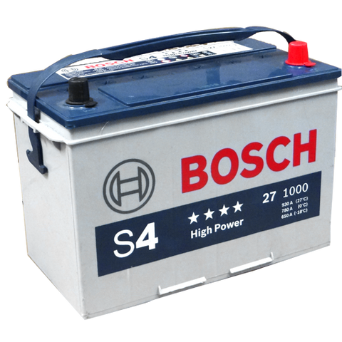 27 HP BATERIA BOSCH LIBRE MANTENIMIENTO HIGH POWER S4