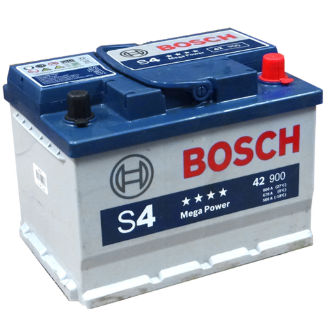 42 HP BATERIA BOSCH LIBRE MANTENIMINETO HIGH POWER S4
