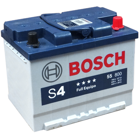 55 HP I BATERIA BOSCH LIBRE MANTENIMIENTO HIGH POWER S4