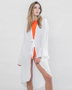 Bell Sleeve Beach Robe