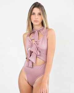 Rose Knot One Piece