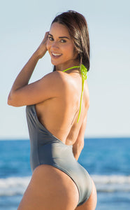 Salitre swimsuit gray