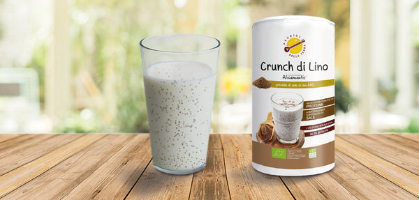 Crunch di lino vegan
