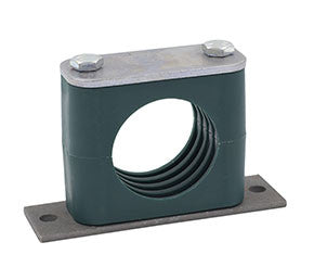 Tube Clamp with Elongated Weld Plate