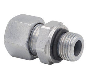 Metric Compression x UN/UNF Thread O-Ring Straight Male Stud