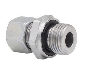 Metric Compression x BSPP Profile Sealing Ring Straight Male Stud