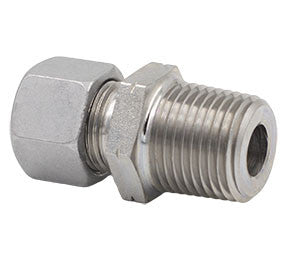 Metric Compression x NPT Straight Male Stud