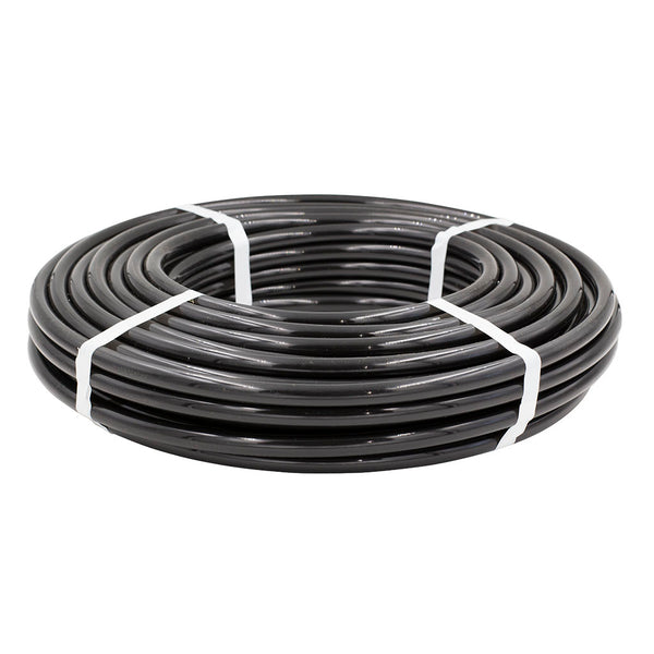 "1/2"" O.D. Poly Tubing Black (100ft Coil)"