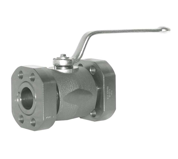 "1-1/4"" Code 62 Mating Flange Stainless Steel Ball Valve"