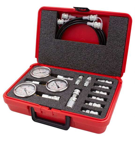 3 Gauge Hydraulic Pressure Test Kit
