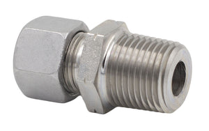 12 mm Tube x NPT S Series Straight Male Stud