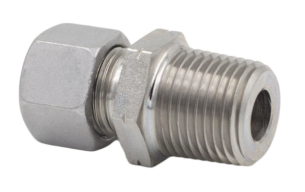 8 mm Tube x NPT L Series Straight Male Stud