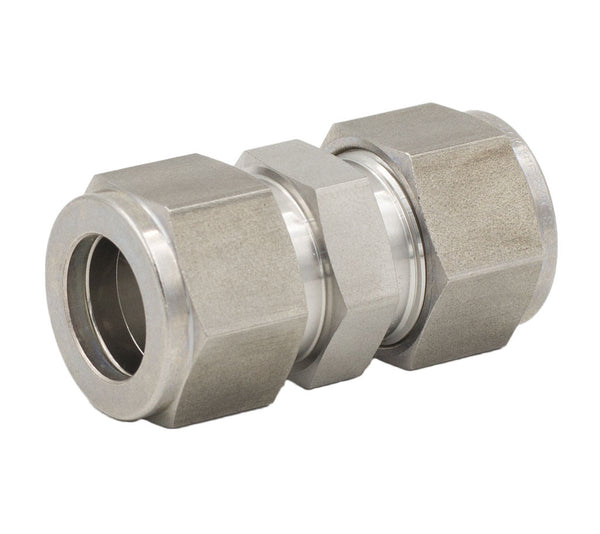 "1/4"" Tube Union 316 Stainless Steel"