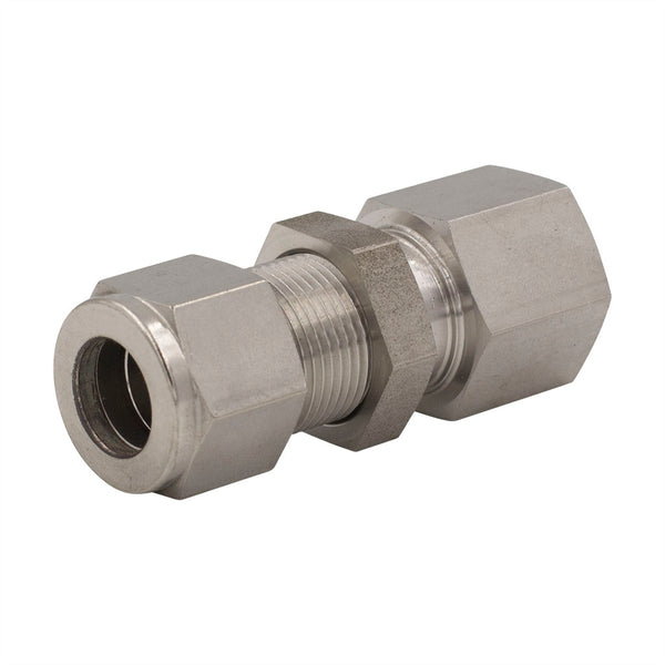 "1/8"" Tube O.D. x 1/8"" FNPT Female Bulkhead Connector"