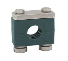 "Load image into Gallery viewer, 1"" Tube Heavy Series Rail Mount Clamp 316 Stainless Steel Hardware"