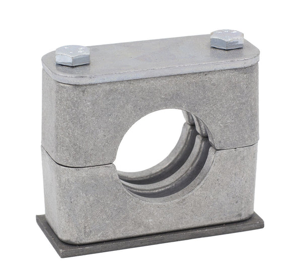 "1-1/4"" Pipe Aluminum Clamp Carbon Steel Hardware"