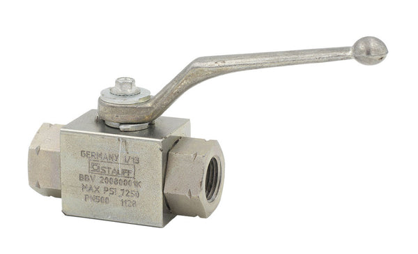 "3/8"" FNPT BBV Series Stainless Steel Ball Valve"