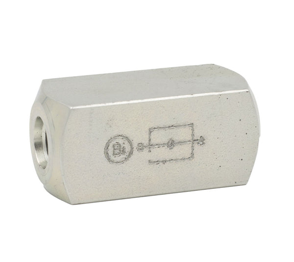 "1/4"" SAE Check Valve 65PSI Cracking Pressure"