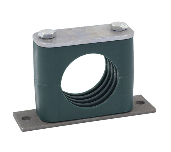 "3/8"" Tube Elongated Weld Plate Clamp"