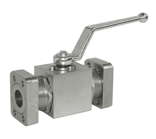 "1/2"" Code 61 Mating Flange Stainless Steel Ball Valve"
