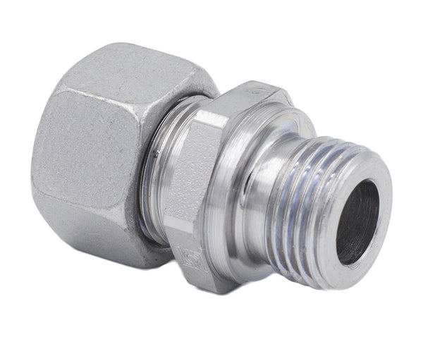 42 mm Tube x BSPP L Series Straight Male Stud