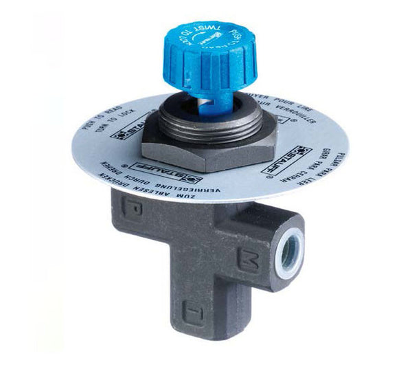 "1/4"" NPT Gauge Isolator Valve"