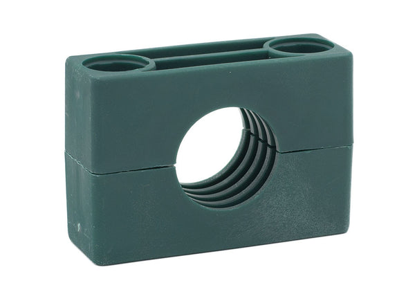 "2-1/4"" Tube Heavy Series Polypropylene Clamp Body"
